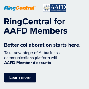 Ring Central for AAFD Members